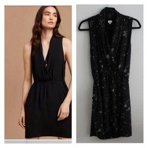 Aritzia Wilfred Sabine Dress Galaxy Print